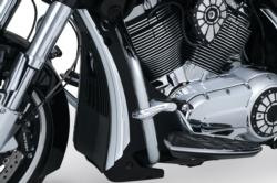 CHROME RADIATOR SHROUD ACCENTS FOR VICTORY