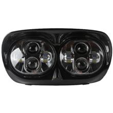 5 3/4 HEADLAMP ASSEMBLY LED FOR ROADGLIDE - HI-LOW BLACKFACE