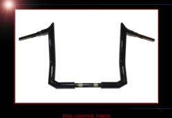 "RAZOR BACK MONKEY BARS 1 1/2"" APE HANGER HANDLEBARS FOR TOURING MODELS"
