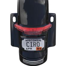 CIRO LATITUDE TAIL LIGHT & LICENSE PLATE HOLDER (( CHROME OR BLACK))